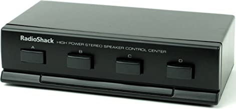 RadioShack High Powered Four Way Stereo Speaker Selector Control Center