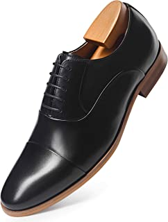 Men's Oxford Classic Lace Up Formal Leather Lined Dress Shoes