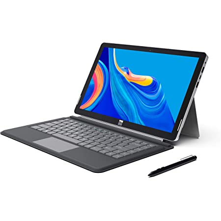 "XIDU PhilPad - Ordenador Portátil de 13.3"", Tablet PC 2 en 1, Pantalla Táctil FullHD (Intel E3950, 6GB RAM, 128GB eMMC, Windows 10 Home) USB C, ..."