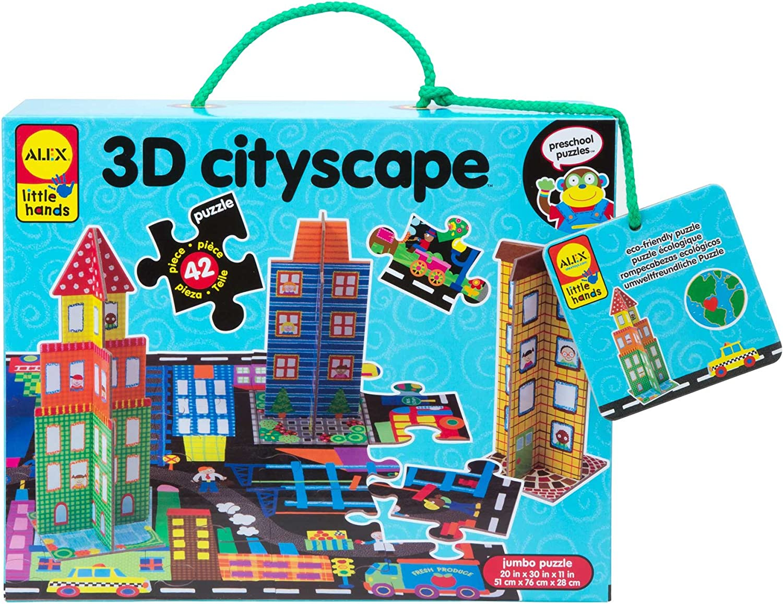 ALEX Toys Little Cityscape 3D Hands Branded quality assurance goods