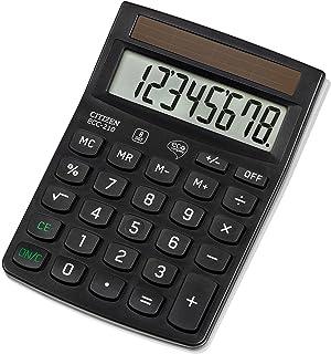 Citizen ECC210 kalkulator, czarny