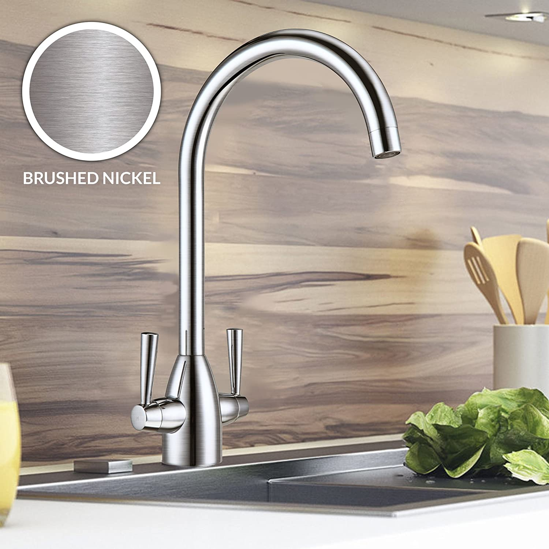 Nes Home   Kitchen Sink Tap Monobloc Mono Mixer Chrome (Muston)