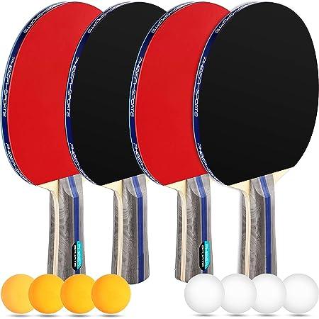Joola Tischtennis Set CaratTischtennisset Tischtennisschläger Tischtennisball