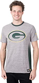 Ultra Game NFL Men's T Vintage Ringer Short Sleeve Tee Shirt