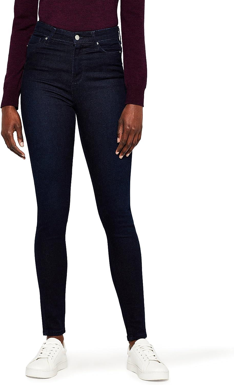 MERAKI Standard Women's Skinny High Waist Jeans,