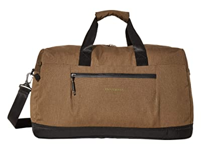 Hedgren Higher Duffel (Beech Khaki) Handbags