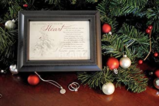 First Christmas Without Someone Memorial Gift Music Box in Loving Memory of a Loved One During The Holidays