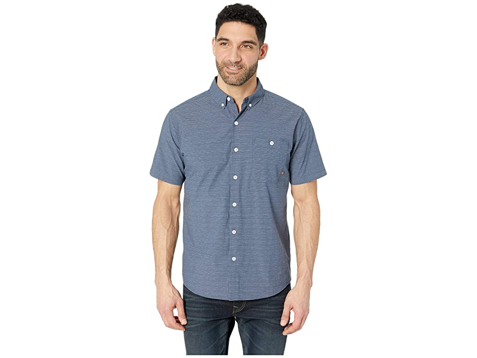 Mountain Hardwear Clear Creektm Short Sleeve Shirt (Zinc) Men