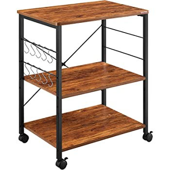 Mr. Ironstone 3-tier Microwave Cart