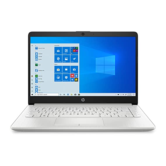 "HP 14 Laptop 14"" (35.56cms) (Ryzen 5 3500U/8GB/1TB HDD + 256GB SSD/Win 10/Microsoft Office 2019/Radeon Vega 8 Graphics), DK0093AU"