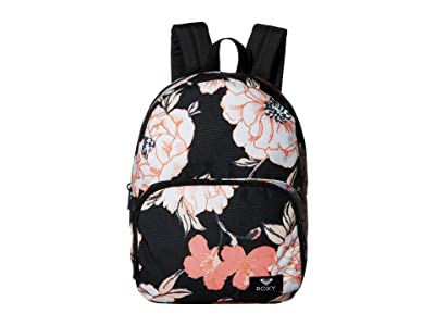 Roxy Always Core Backpack (Anthracite S New Flowers) Backpack Bags