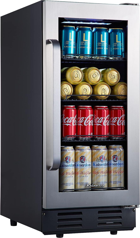Mini Fridge Kalamera 15 inch Overseas parallel import regular item gift Refrigerator Beverage Cooler With