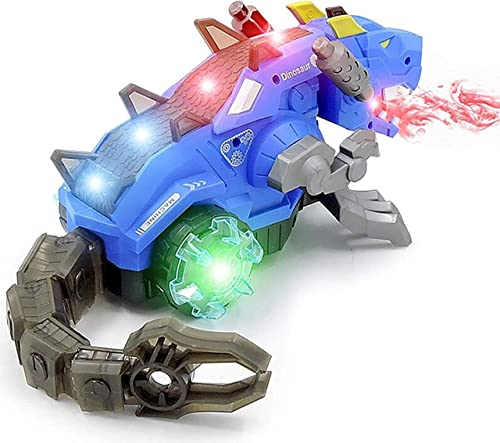zest 4 toyz realistic design mechanical robotic dragon toy, walking dragon dinosaur toy with fire breathing water spr...
