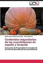 Contenidos mayoritarios de las cucurbitaceas de zapallo y lacayote: Evaluación de Propiedades funcionales de las harinas d...