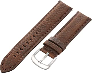 TX87092BN Allstrap 20 mm Brown Leather Watch Band