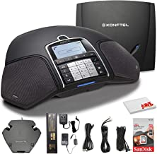 $495 » Konftel 300Wx Wireless Conference Phone w/Analog DECT Base Station + Sandisk 16GB Card to Record Calls + Cleaning Cloth an...
