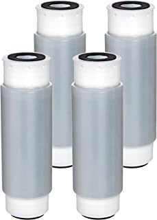 Waterdrop Whole House Water Filter, Compatible with 3M Aqua-Pure AP117 Drinking Water System, Whirlpool WHKF-GAC for Chlorine, Dirt and Rust Reduction, Pack of 4