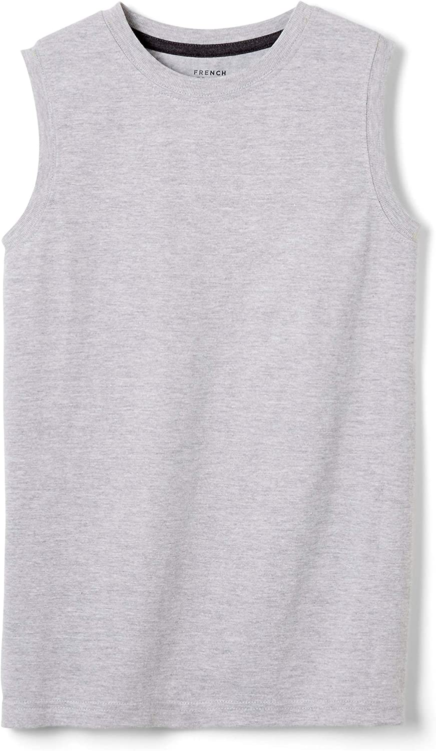 French Toast Boys' Sleeveless Solid Muscle Tee