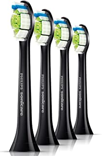 Philips DiamondClean Black Replacement Heads - 4 Pack