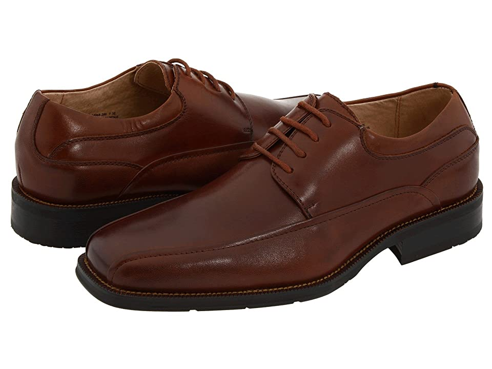 Florsheim Curtis Bike Toe Oxford (Brown Leather) Men