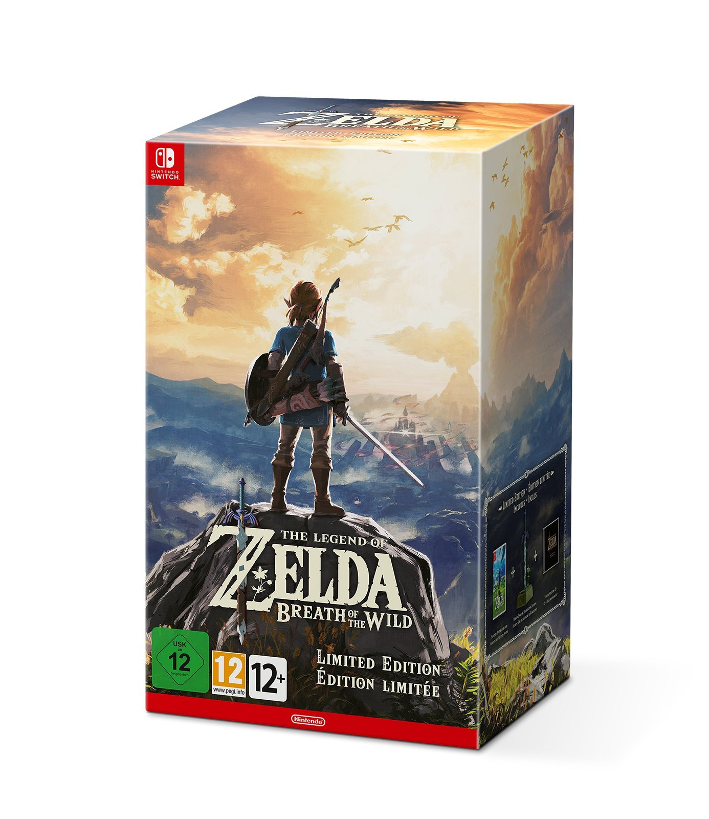 The Legend Of Zelda: Breath Of The Wild (Edición Limitada): Amazon.es: Videojuegos