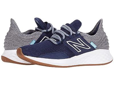 New Balance Kids Fresh Foam Roav (Little Kid) (Natural Indigo/Light Aluminum) Boys Shoes