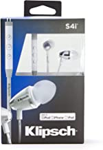 Klipsch Image S4i - II White In-Ear Headphones (Renewed)