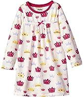 Hatley Kids - Princess Crowns Night Dress (Toddler/Little Kids/Big Kids)