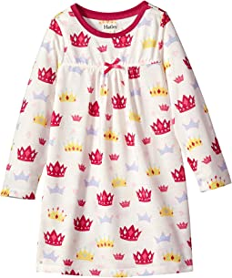 Hatley Kids - Princess Crowns Night Dress (Toddler/Little Kids/Big Kids)