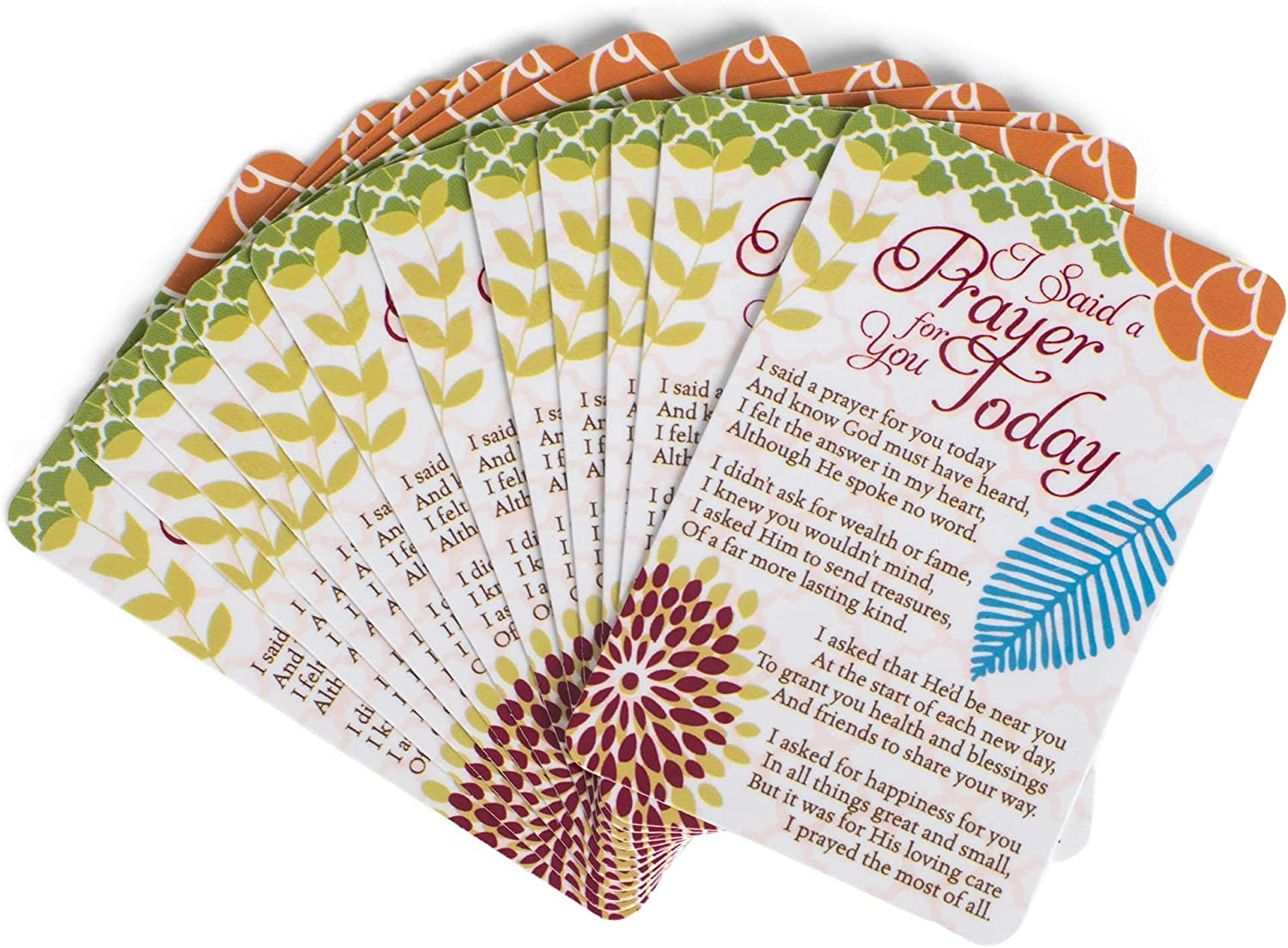 Selling and selling Pocket Card Bookmark Pack of 12 - Said For Chicago Mall Prayer I Today You a