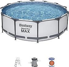 Bestway 56418 | Steel Pro MAX - Pool rond 366 x 100 cm inclusief filterpomp en ladder