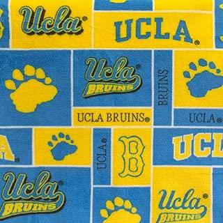 Fleece Print UCLA Bruins 58 Inch Wide Fabric by the Yard (F.E.®)