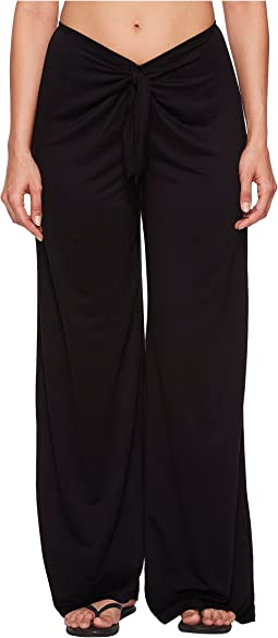 Kenneth Cole - Frenchie Solids Tie Front Pant Cover-Up