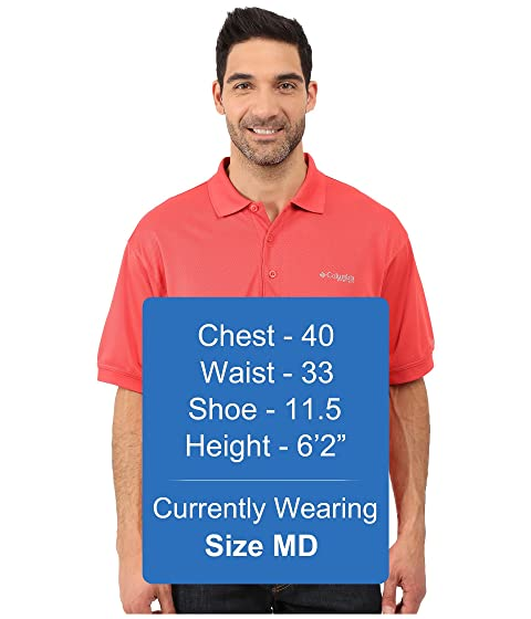 Perfect Red Cast Polo Columbia Sunset PvZFqZA