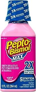 Pepto Bismolmaxliq 12 Size 12z Pepto-Bismol Max Strength Upset Stomach Relief