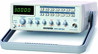GW Instek GFG-8219A Function Generator with 6 Digit LED Display, Frequency Counter, Sweep and AM/FM Modulation, GCV Output, 0.3Hz to 3MHz Frequency Range