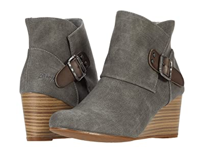 Blowfish Baldwin (Grey Denim/Steel Grey Die Cut) Women