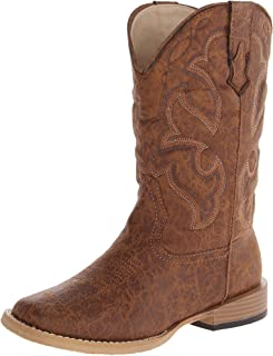 Scout Square Toe Basic Cowboy Boot (Infant/Toddler/Little Kid/Big Kid)