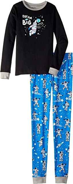 Dream Big Organic Cotton Applique Pajama Set (Toddler/Little Kids/Big Kids)