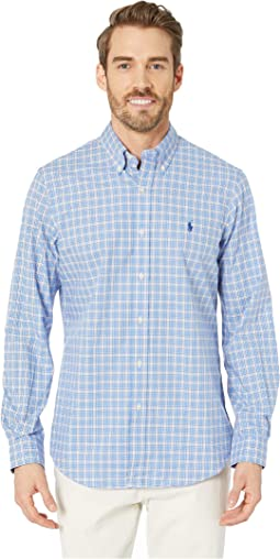 Dress Shirt Blue/White Multi
