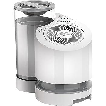 Amazon限定 ボルネード 加湿器 サーキュレータ搭載 お手入れ簡単 3.8L 16畳 まで 気化式 EV100-JP