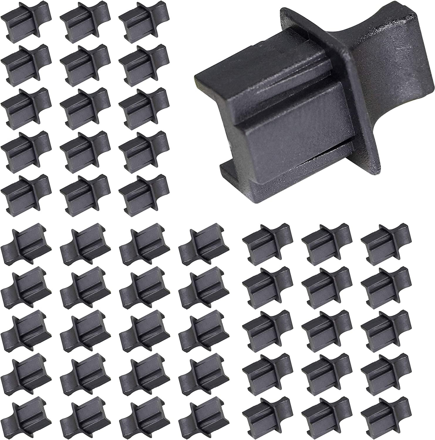 50PCS RJ45 In stock Anti Dust Cover Cap Ranking TOP13 Hub Ethernet Protector P Protects