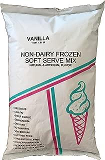 Vanilla Soft Serve Powder Ice Cream Mix