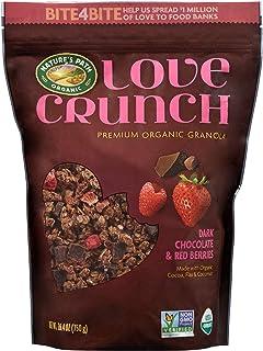 Nature's Path Love Crunch Dark Chocolate Berries Granola, 26.4 Ounce, Pack of 6