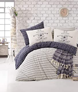 Nautical Crib Bedding Baby Boys Quilt Toddlers Bed 6pcs Set /%100 Turkish Cotton