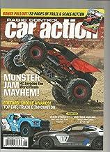 RADIO CONTROL CAR ACTION MAGAZINE AUG,2019 MONSTER JAM MAYHEM! BACK COVER TORN