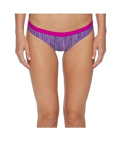 Nike Rush Heather Sport Bikini Bottom (Fuchsia Blast) Women