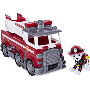 Paw Patrol Marshall Fire Truck Ultimate Rescue //moving Ladder NIB nickelodeon