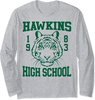 Netflix Stranger Things Hawkins High School 1983 Manche Longue