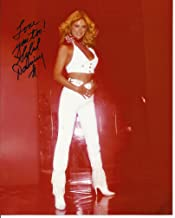 Sybil Danning hand-signed 8 x 10 photo C of A white halter top & pants #8